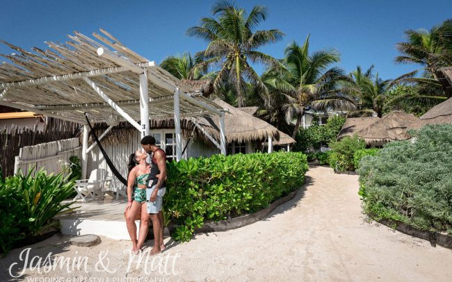 Erin & Lawrence - Coco Tulum Lifestyle Photography