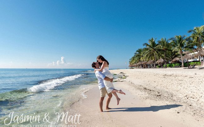 Stephanie & Marc - Playa del Carmen Honeymoon Photography