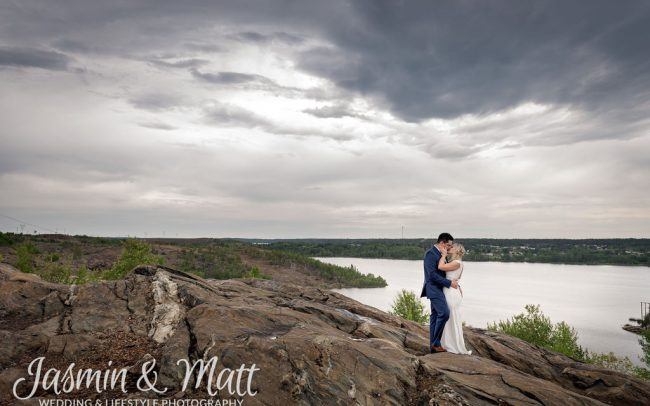Alyssa & Jesse - Flin Flon Manitoba Wedding Photography