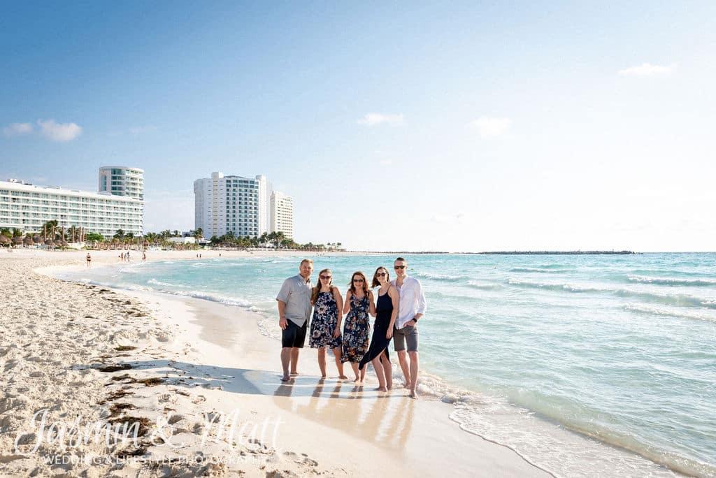 Curtis Family - Playa Gaviota Azul Cancun Family Photography