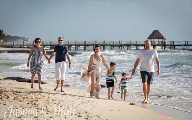 Mighton Family - Playa del Carmen Family Photography
