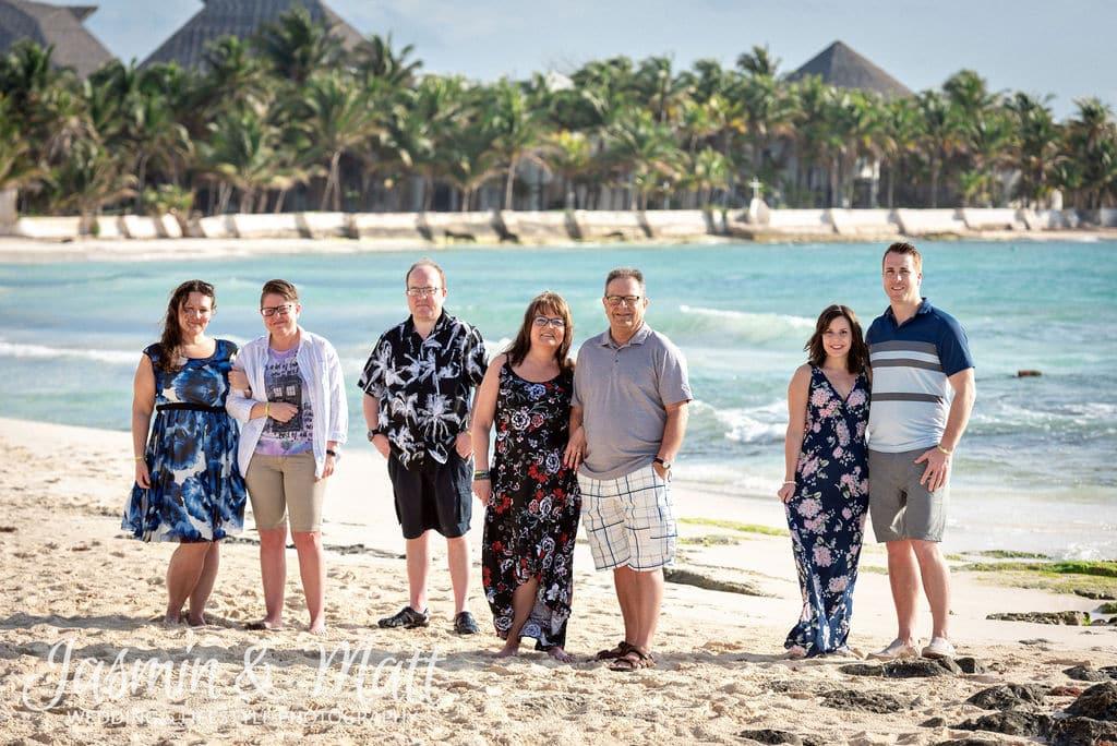 Pollard Family - Playa Paraiso Family Photography