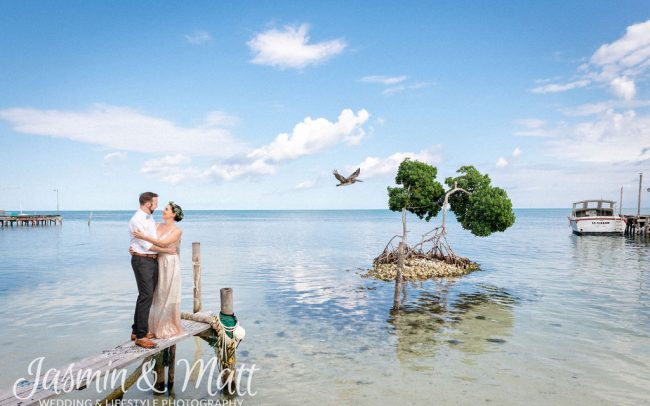 Alyson & John - Caye Caulker Belize Wedding Photography