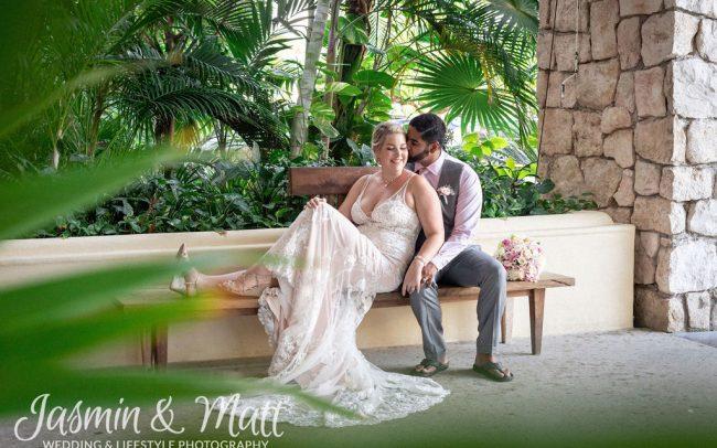 Susanne & Sunil - Panama Jack Playa del Carmen Wedding Photography